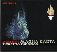 Magna Carta - Ticket To The Moon CD (album) cover