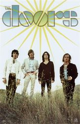 THE DOORS image groupe band picture