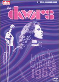 The Doors - Live In Europe 1968 DVD (album) cover