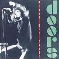 The Doors - Alive, She Cried CD (album) cover