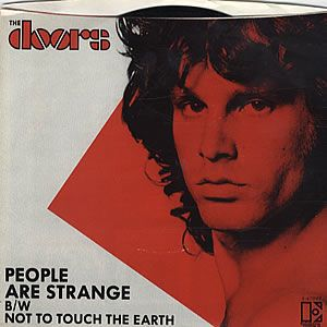 The Doors - People Are Strange CD (album) cover