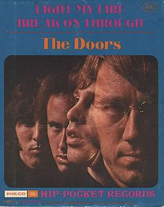 The Doors - Light My Fire 5'' Vinyl CD (album) cover