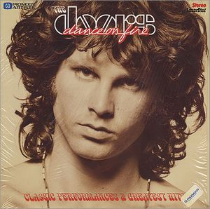 The Doors - Dance On Fire (laser Disc) DVD (album) cover
