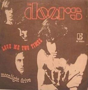THE DOORS - Love Me Two Times CD album cover