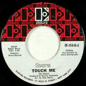 The Doors - Touch Me CD (album) cover