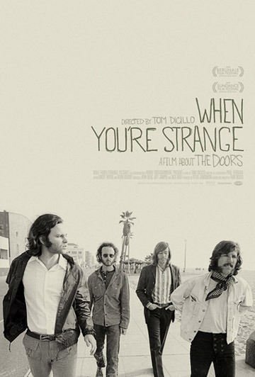 The Doors - When You're Strange DVD (album) cover