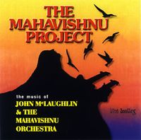 Mahavishnu Project - Live Bootleg CD (album) cover