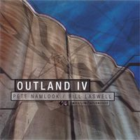 Pete Namlook - Outland 4 (with Bill Laswell) CD (album) cover