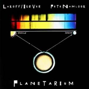 PETE NAMLOOK - Planetarium (with New Composers) CD album cover