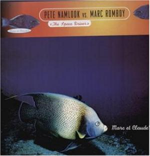 Pete Namlook - The Space Driver [ep] (pete Namlook Vs. Marc Romboy) CD (album) cover