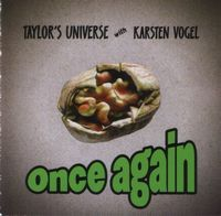 Robin Taylor - Once Again (Taylor's Universe With Karsten Vogel) CD (album) cover
