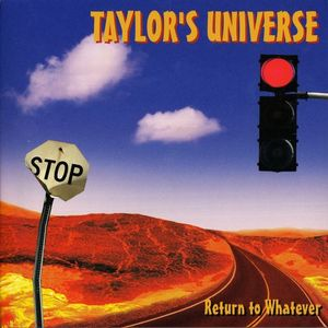 Robin Taylor - Return To Whatever CD (album) cover