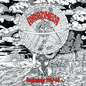 Andromeda (uk) - Beginnings 1967-68 CD (album) cover