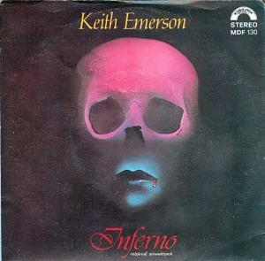 KEITH EMERSON - Inferno CD album cover