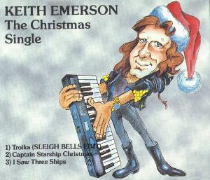 KEITH EMERSON - The Christmas Single CD album cover
