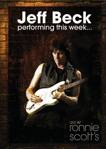 Jeff Beck - Performing This Week...live At Ronnie Scott's DVD (album) cover