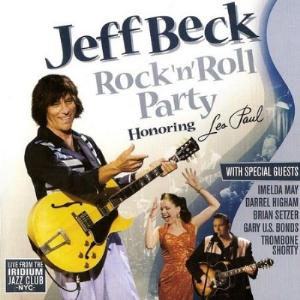 Jeff Beck - Rock'n'roll Party. Honoring Les Paul CD (album) cover