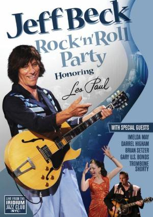 Jeff Beck - Rock'n'roll Party. Honoring Les Paul DVD (album) cover