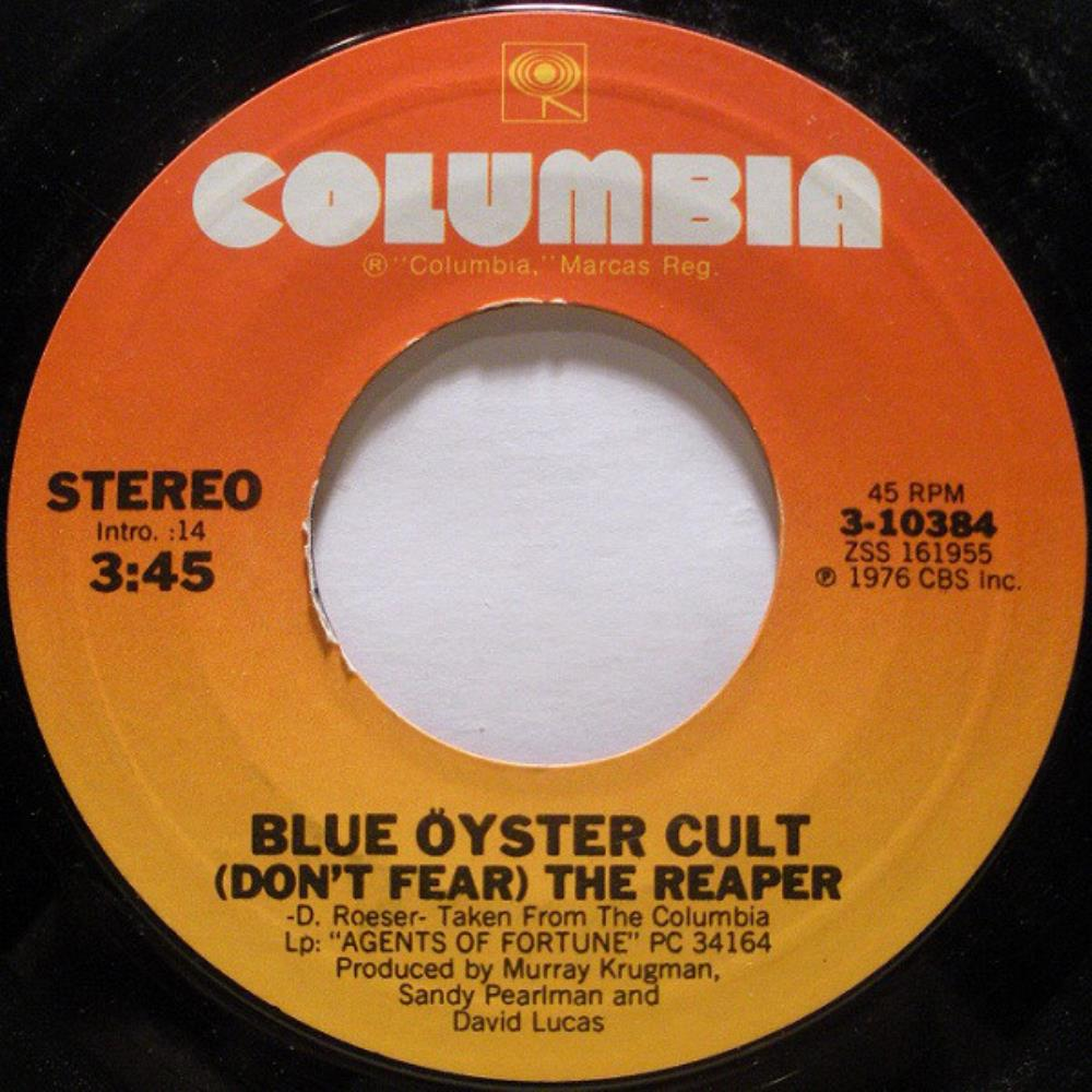 Blue Öyster Cult - (don't Fear) The Reaper CD (album) cover