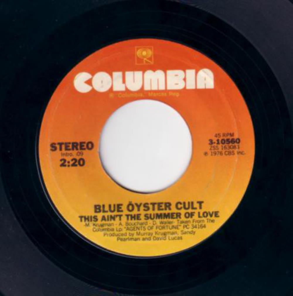 Blue Öyster Cult - This Ain't The Summer Of Love / Debbie Denise CD (album) cover