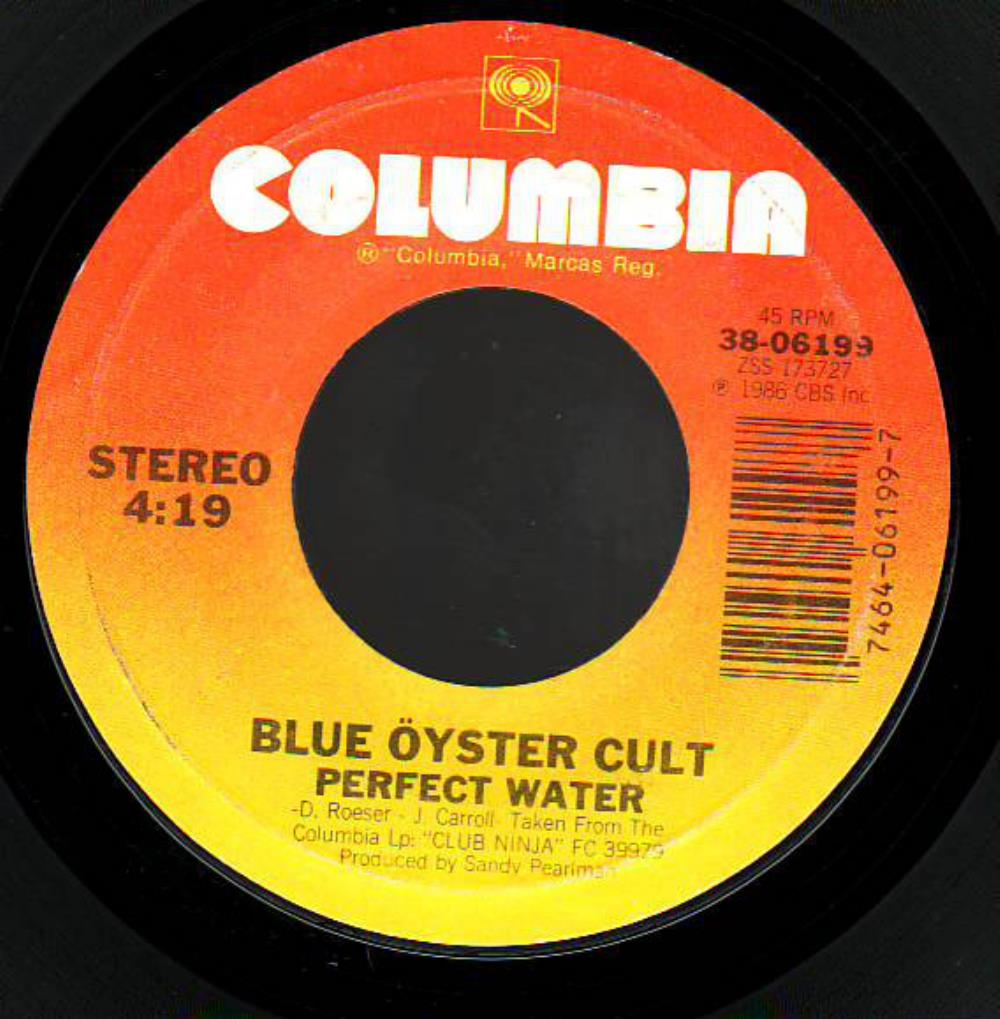 Blue Öyster Cult - Perfect Water CD (album) cover