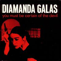 Diamanda GalÁs - You Must Be Certain Of The Devil CD (album) cover