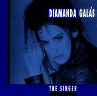 Diamanda GalÁs - The Singer CD (album) cover