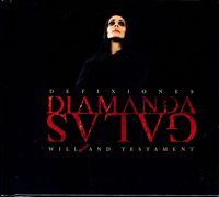 Diamanda GalÁs - Defixiones, Will And Testament CD (album) cover