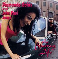 Diamanda GalÁs - Diamanda Galás With John Paul Jones: The Sporting Life CD (album) cover