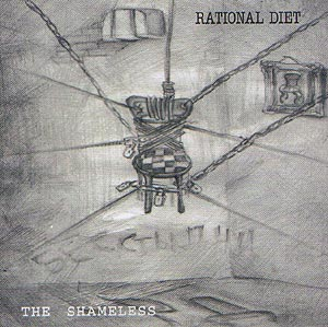 Rational Diet - The Shameless CD (album) cover