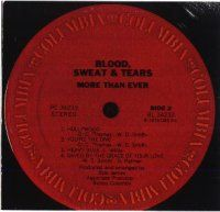 Blood Sweat & Tears - More Than Ever CD (album) cover