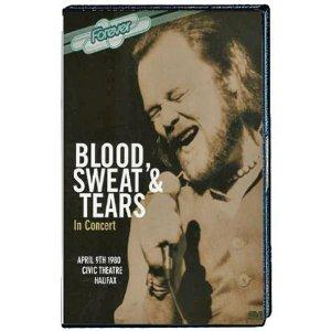Blood Sweat & Tears - In Concert DVD (album) cover