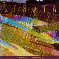 Robert Rich - Strata (with Steve Roach) CD (album) cover