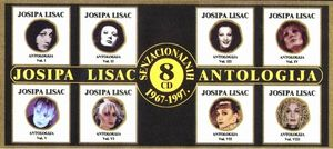 Josipa Lisac - Antologija 1967-1997 CD (album) cover
