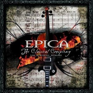 Epica - The Classical Conspiracy CD (album) cover