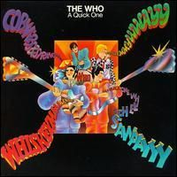 The Who - A Quick One CD (album) cover