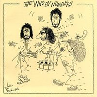 The Who - By Numbers CD (album) cover