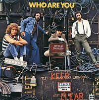 The Who - Who Are You CD (album) cover