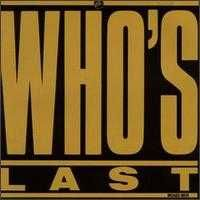 The Who - Who's Last CD (album) cover