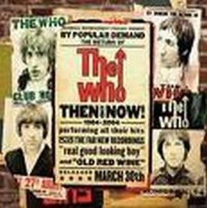 The Who - Then And Now CD (album) cover