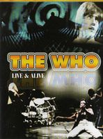 The Who - Live & Alive DVD (album) cover