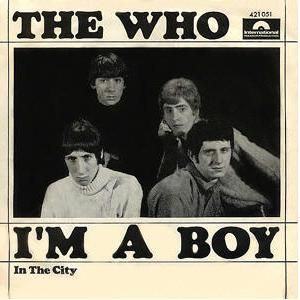 The Who - I'm A Boy CD (album) cover