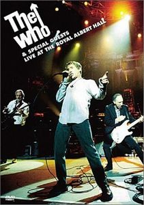 The Who - Live At The Royal Albert Hall DVD (album) cover