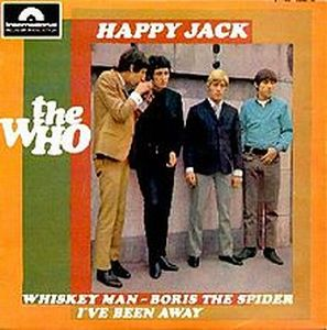 The Who - Happy Jack CD (album) cover