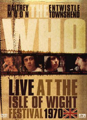 THE WHO - Live At The Isle Of Wight Festival CD (album) cover