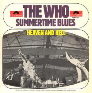 The Who - Summertime Blues CD (album) cover