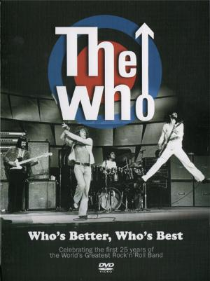 The Who - Who's Better, Who's Best DVD (album) cover