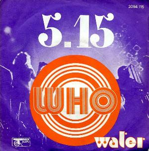 The Who - 5.15 CD (album) cover