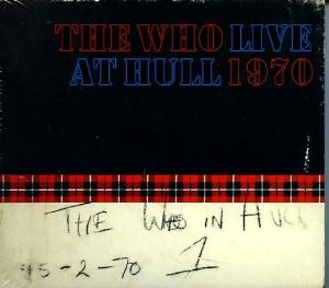 The Who - Live At Hull CD (album) cover