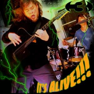 Three - It's Alive CD (album) cover